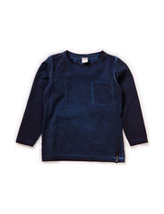 DUKESON MINI LS TOP 115 - Dress Blues