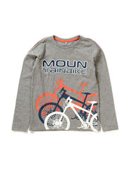 DIELS KIDS LS TOP 115 - Grey Melange