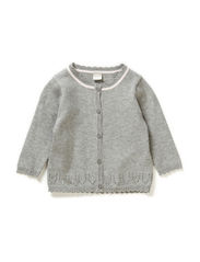 DITA NB SO KNIT CARDIGAN 115 - Grey Melange