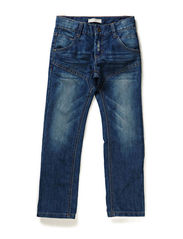 NEW BUZZ L KIDS DNM REG/REG PANT NOOS - Medium Blue Denim