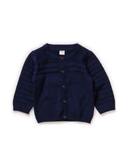 EDWARD NB SO KNIT CARDIGAN 115 - Dress Blues