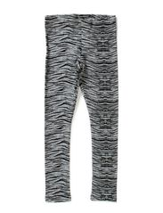DAVINA KIDS SWEAT LEGGING AOP X-AU14 - Grey Melange