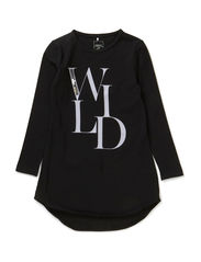 KASIRA KIDS LS TUNIC X-AU14 - Black