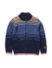 ENVER KIDS LS KNIT CARD LMTD 1  X- SP15 - Dark Denim
