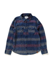 EMMERY KIDS LS SHIRT LMTD1  X- SP15 - Dark Denim