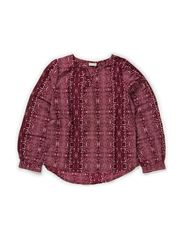 INESA KIDS LS SHIRT AOP ANIMAL X-AU14 - Winetasting