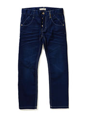 REN KIDS DNM BAG/REG PANT NOOS S - Medium Blue Denim