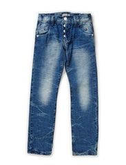 RENE KIDS DNM SLIM/SLIM PANT NOOS - Medium Blue Denim