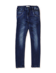 RISA KIDS DNM XXSl/XXSL PANT NOOS - Medium Blue Denim