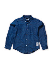 FAMBRAY KIDS LS SHIRT 115 - Dress Blues