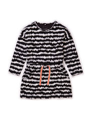 FODILEA MINI LS DRESS 115 - Black