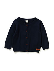 DALTON NB SO KNIT CARDIGAN 115 - Dress Blues