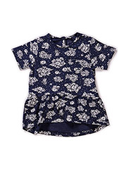 GRETHE MINI SS TOP 215 - Dress Blues