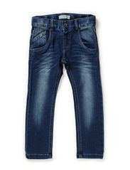 RAMMO MINI DNM SLIM/SLIM PANT NOOS - Medium Blue Denim