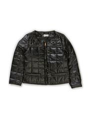 LEELA KIDS QUILT JACKET X-AU14 - Black