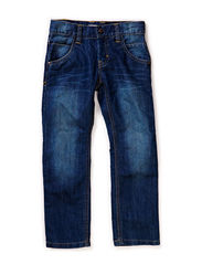 AGNAR KIDS DNM REG/REG PANT CAMP SP15 - Dark Blue Denim
