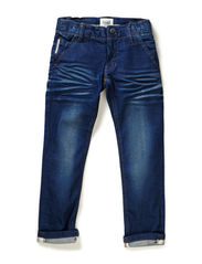 ESKE KIDS DNM REG/SLIM PANT LMTD115 - Medium Blue Denim