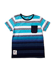 GLEN KIDS SS TOP 215 - River Blue