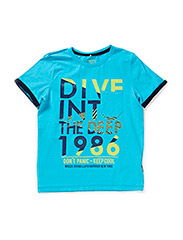 GODFRED KIDS SS TOP 215 - River Blue