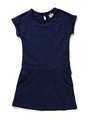 VUDITTE KIDS CAPSL SWEAT DRESS MAR 215 - Dress Blues