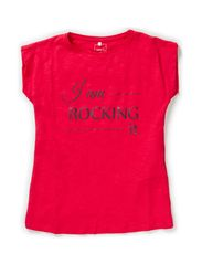 LERIE KIDS SS TOP X-AU14 - Rose Red