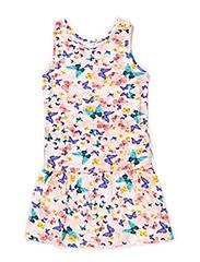 HENRIETTA KIDS SLIM TANK DRESS 215 - Tropical Peach