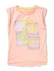 HANIA KIDS CAPSL SLIM TOP 215 - Tropical Peach