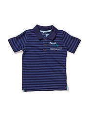 HOLOSON MINI SS POLO 215 - Dress Blues