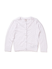 HELA MINI SOLID LS KNIT CARD 215 - Bright White