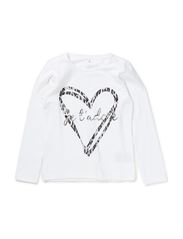 OWENA KIDS LS TOP X-AU14 - Bright White