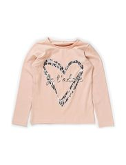 OWENA KIDS LS TOP X-AU14 - Rose Smoke