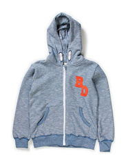 NORWELL KIDS SWEAT W HOOD X-AU14 - Dark Blue