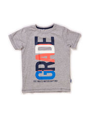 ESMUS KIDS SS TOP BOX 115 - Grey Melange
