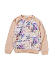 OSANA KIDS LS SWEAT X-AU14 - Rose Smoke