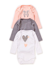 3-P VISE NB LS BODY JAN 115 - Tropical Peach