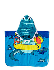 ZUNNY MINI TOWEL PONCHO 215 - Federal Blue