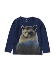 OZIE MINI LS TOP X-AU14 - Dress Blues