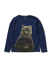 OZIE KIDS LS TOP X-AU14 - Dress Blues