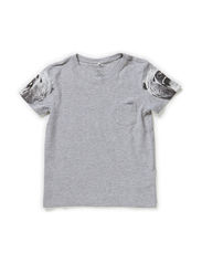 OKAL KIDS SS TOP X-AU14 - Grey Melange