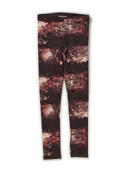 DAVINA KIDS LEGGING AOP OCT X-AU14 - Peachskin