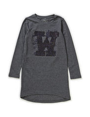 PAYA KIDS LS TUNIC X-AU14 - Dark Grey Melange
