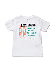 ION KIDS SS TOP X-SP15 - Bright White