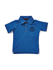 NITKOLOSON M SS POLO 415 - DARK BLUE