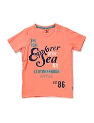 GOX KIDS SS TOP BOX 215 - Fusion Coral