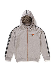 NITLEA K LS SWEAT CARD 515 - GREY MELANGE