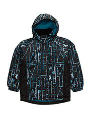 NITRISE K JACKET AOP METHYL FO 316 - METHYL BLUE