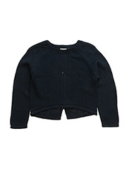 nitGANEON K LS O-NECK KNIT 216 - DRESS BLUES