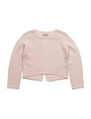 nitGANEON K LS O-NECK KNIT 216 - PEARL