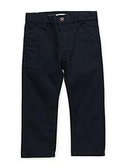 NITHANE REG/REG CHINO TWILL PANT MZ - DRESS BLUES