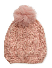 NITMALUKI KNIT HAT MZ - CORAL CLOUD